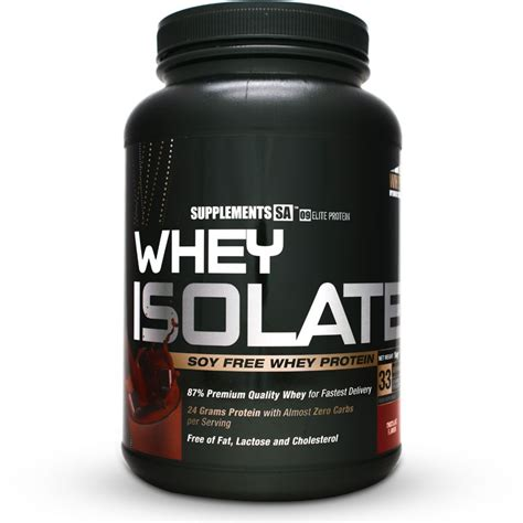 Whey Isolate Supplements Sa Whey Isolate