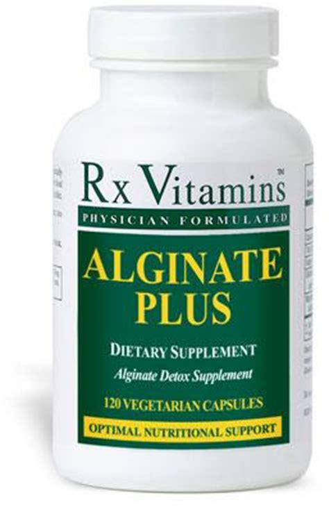 Sodium Alginate Detox by Alginate Plus Detox Heavy Metals Rx Vitamins