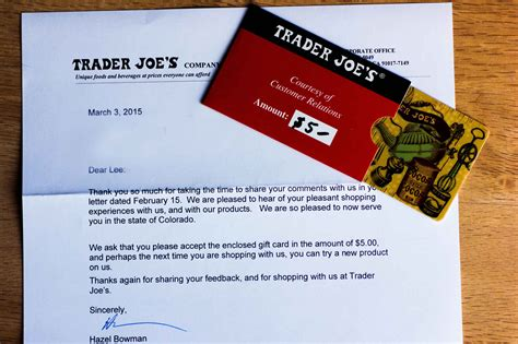 trader joe s up letter how i got 14 companies like chipotle and trader joe s to