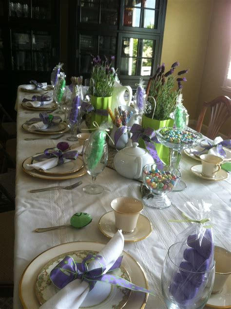 Easter Table Decorations Easter Table Decor Tablescape Pinterest
