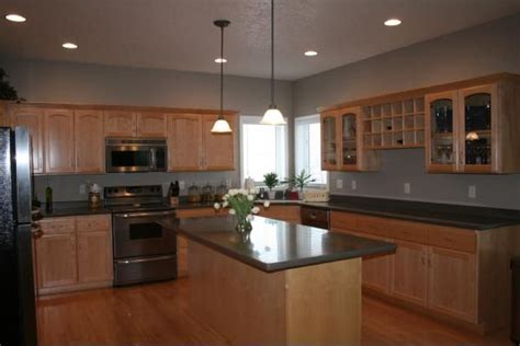 golden oak cabinets kitchen paint colors golden oak cabinets taupe kitchen kitchens glidden
