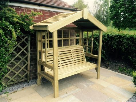 arbour benches wooden churnet valley quality handcrafted garden products build