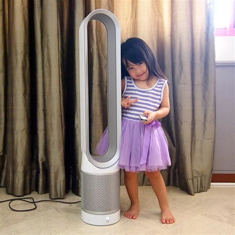 dyson pure cool   purifier  fan review  chill mom
