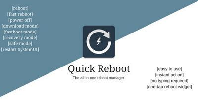 fast reboot pro apk reboot pro root apk 1 8 android and apps