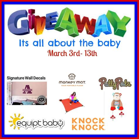 March Madness Sweepstakes 2015 - do you have a little one enter the its all about the baby march giveaway ends 03 13