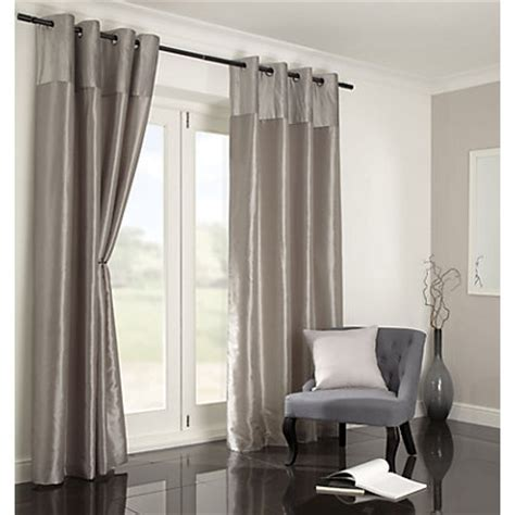 listers curtains home of style velvet silver curtains 66 x 54in