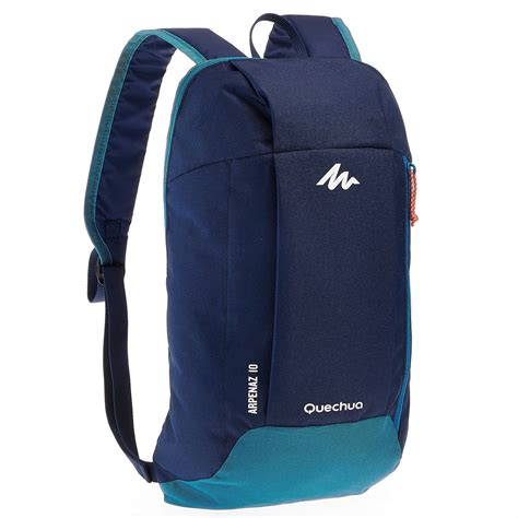 Tas Ransel Backpack 2in1 nh100 10 l hiking backpack blue blue quechua
