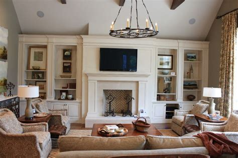 Built Ins For Living Room by Family Room Built Ins Traditional Living Room