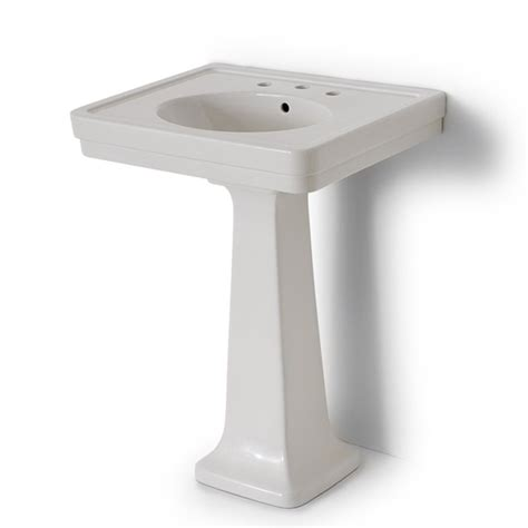 alden pedestal sink bath furniture fixtures bathroom