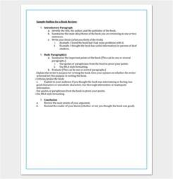 template for ebook book outline template 17 sles exles and formats