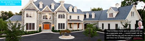 Luxury Custom Home Builders In Maryland Botero Homes Custom Homes By Botero A Service Company A Tradition Of Artists
