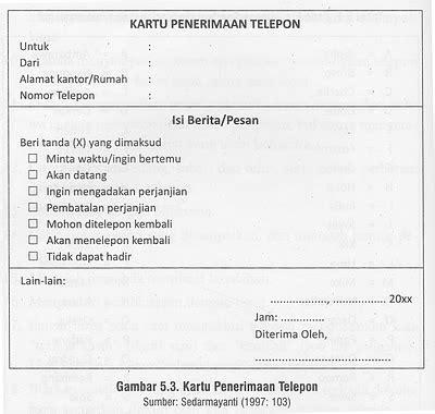 gambar format lembar pesan telepon humas stevani rozalin 098554076 november 2011
