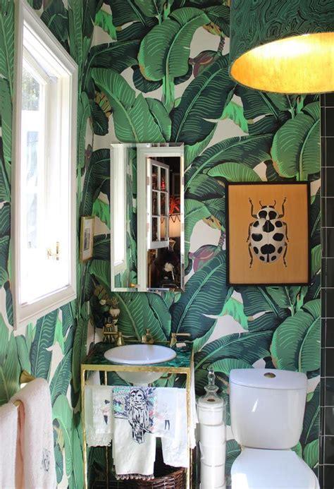 vintage home design inspiration convierte tu casa en un jard 237 n tropical con papel pintado