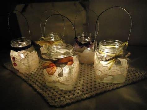 riciclare vasi di vetro 25 idee originali per riciclare barattoli di vetro