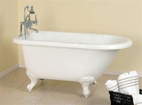 54 inch bathtubs 54 inch acrylic classic clawfoot bathtub