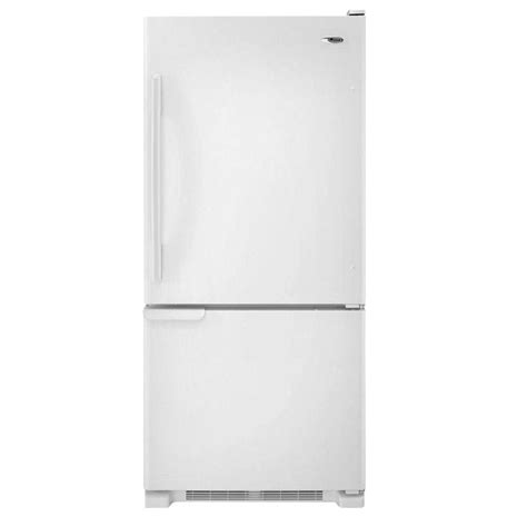 whirlpool 30 in w 19 7 cu ft door refrigerator