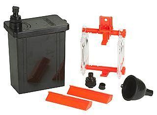 hp combi plan t 4x5 film developing tank with lid