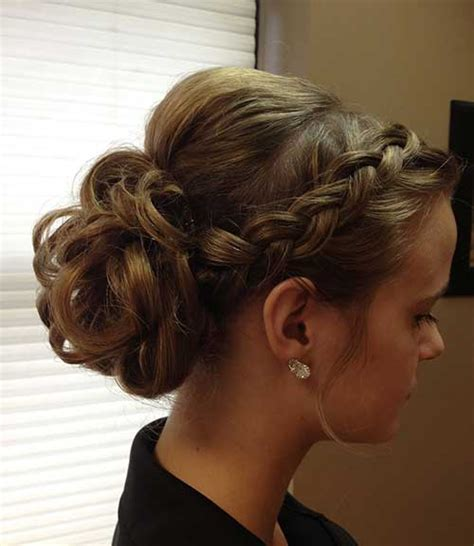 Hairstyle Updo by 40 New Updo Hairstyles For Prom Hairstyles 2016 2017