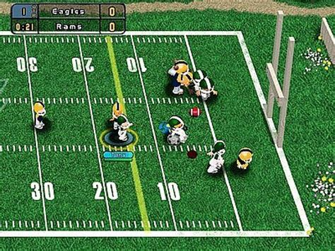 backyard football cheats backyard football 2004 screenshots hooked gamers
