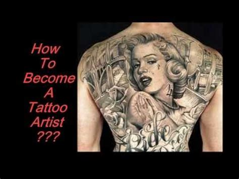 how to become tattoo artist how to become a artist with black grey wash