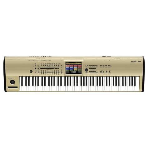 Keyboard Musik Korg korg kronos 88 key musik workstation limited edition guld