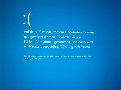 install windows 10 blue screen microsoft r 228 t von manueller installation des creators