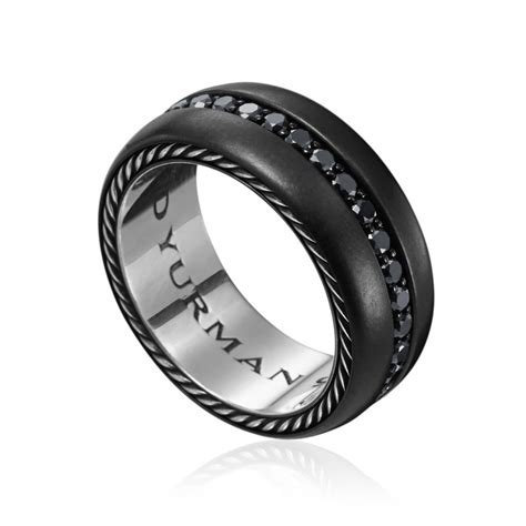 black wedding rings with diamonds for and much
