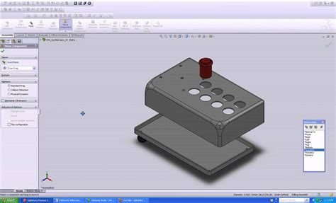 solidworks tutorial assembly mates solidworks tutorials move and rotote youtube