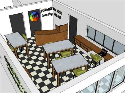 sketchup workshop layout sketchup retail shop youtube
