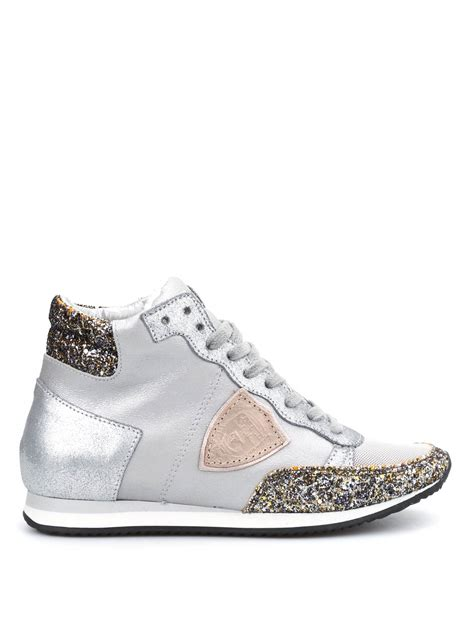 sneakers alte con zeppa interna sneaker tropez alte con zeppa philippe model sneakers