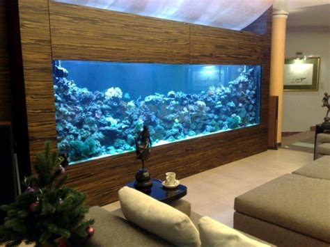 100 ideas integrate aquarium designs in the wall or in the living room   Interior Design Ideas