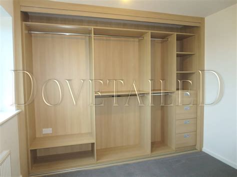 Fitted Wardrobe Interiors by Fitted Wardrobes With Sliding Doors Dovetailedinteriors