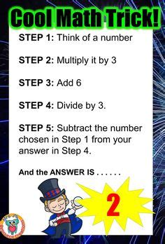 Cool Math Trick To Get Your Students Doing Math With A Bit