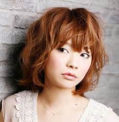 asain hairstyle short wavy hairstyles for round faces short hairstyles