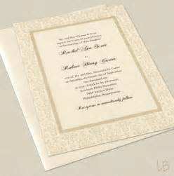 formal wedding invitations items similar to formal wedding invitation sle set traditional ivory damask wedding