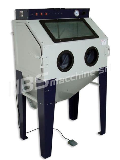cabina sabbiatrice sabbiatrice sogi s 100 cabina sabbiatura con aspiratore