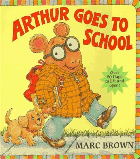 book the big picture arthur goes to school great big board book