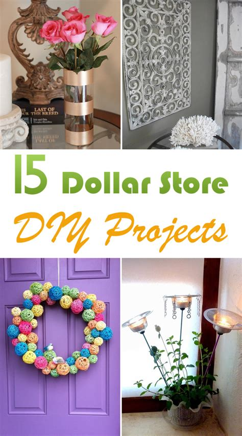 diy dollar store crafts 15 dollar store diy projects my decor home decoration