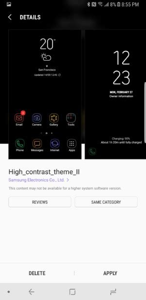themes android change how to change themes on the samsung galaxy note 8 planet