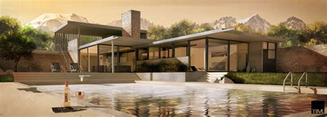 kaufmann desert house plan cgarchitect professional 3d architectural visualization