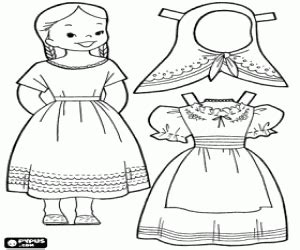 mexican doll coloring page dress up games coloring pages printable games 2