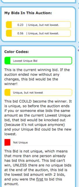 lowest unique bid new lowest unique bid auction snagoo auction 174