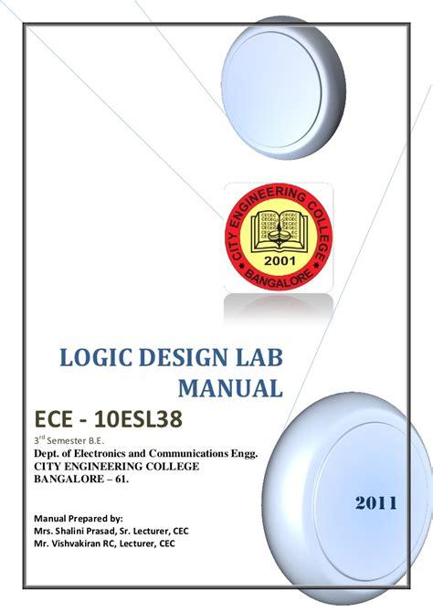 pattern making lab manual 343logic design lab manual 10 esl38 3rd sem 2011