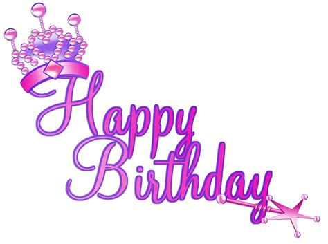 happy birthday clipart glamorous happy birthday clipart