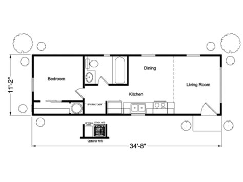 the northwest park model vs12351u manufactured home floor