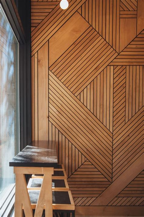 ideas  wall cladding  pinterest timber