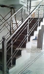 Steel Handrail Design Stainless Steel Railings In Mohali Chandigarh And