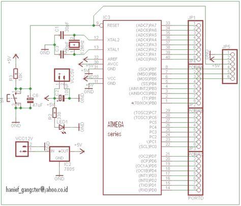Roda Robot Line Follower 64 Gigi Set untuk semua rangkaian dasar sistem minimum microcontroller atmega