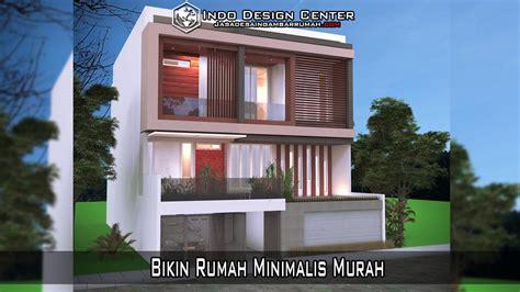 membuat rumah murah 75 desain rumah minimalis biaya murah desain dan