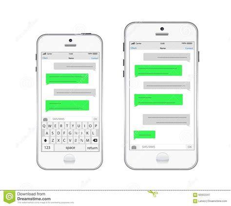 text message template image collections templates design